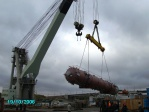 "Floating crane ""Bogatyr - 3"", October 2006"